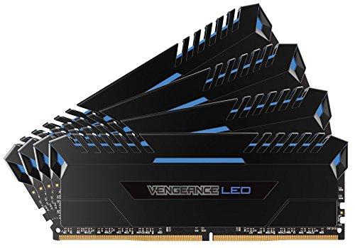 Memoria RAM Corsair Vengeance LED 64 GB (4 x 16 GB, DDR4, 3000 MHz)