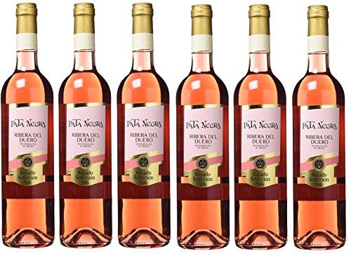 Pack 6 botellas Pata Negra Rosado Selección D.O Ribera del Duero -