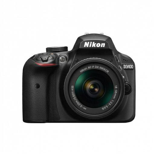 Cámara Réflex Nikon D3400 con AFP 18/55 y Estuche