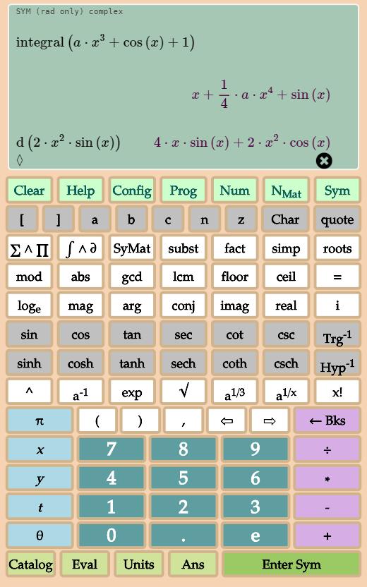 Math Plus Ultra (Calculadora científica, Android)