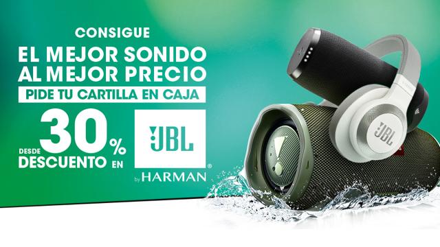 Desde -30% descuento en JBL Audio con SuperCor