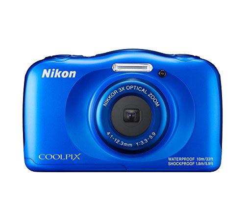 Nikon Coolpix W100 - Cámara digital acuática de 13.2 MP