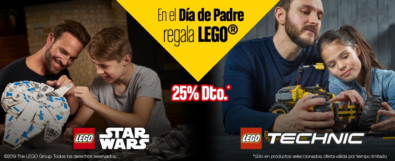 25% selección LEGO Star Wars y Technic [Carrefour]