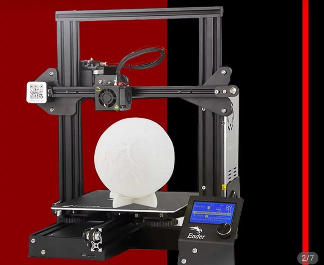 Ender 3. Impresora 3d desde Republica Checa