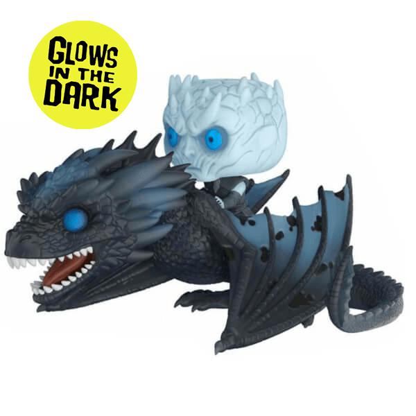 Funko Pop Juego de tronos El Rey de la Noche en dragón