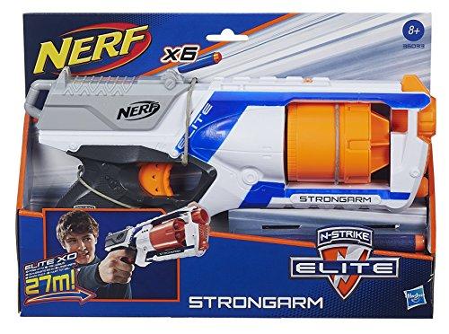 Nerf - Lanzadardos Strongarm Elite