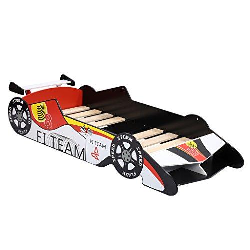 Cama infantil coche de carreras solo 39.9€