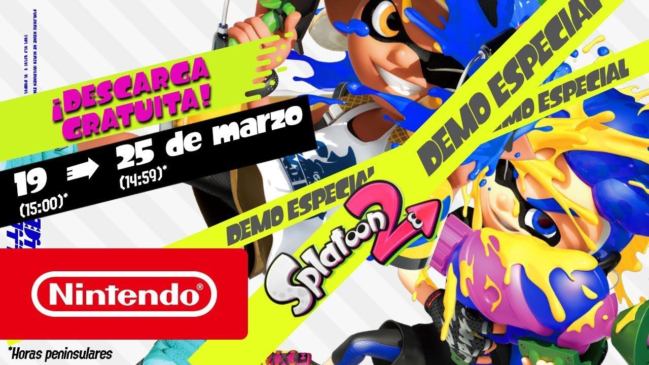 7 días gratis Nintendo Switch Online + Splatoon 2 Demo Especial + 33% de descuento si participas