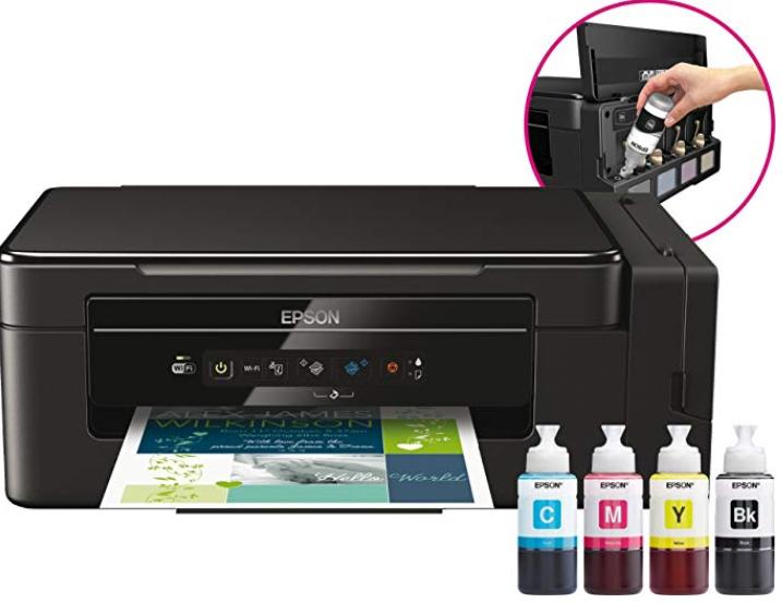 **Vuelve Chollaco** Epson EcoTank ET-2650 - Impresora multifunción, impresión a coste ultrabajo