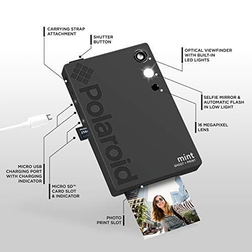 Polaroid Mint Cámara Digital de impresión instantánea