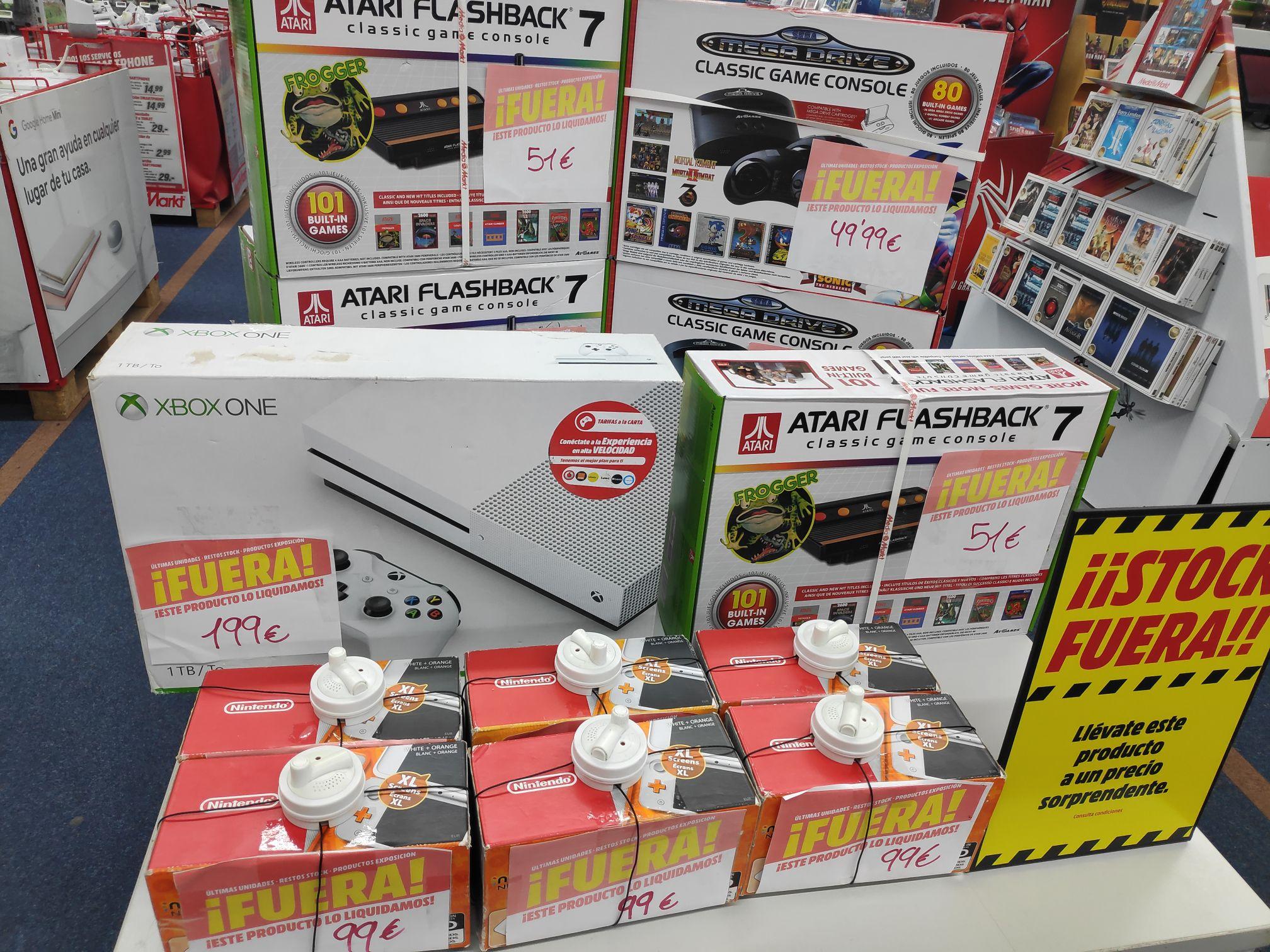 Liquidacion consolas mediamarkt Las Arenas