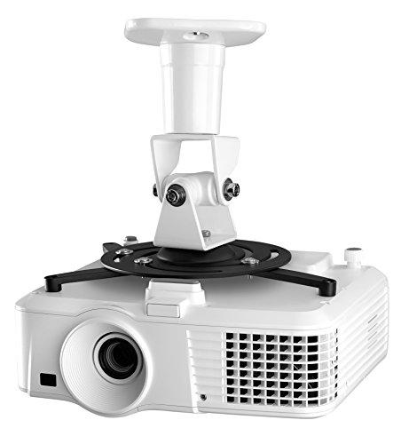 Soporte de techo para proyectores de hasta 15 kilos con rotación de 360º