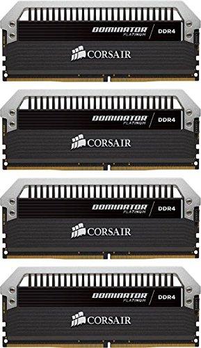 Memoria RAM Corsair Dominator Platinum 16 GB (4 x 4 GB, DDR4, 3200 MHz)