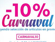 DIsney Store: 10% adicional artículos de carnaval