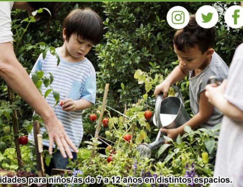 """SEVILLA (SEMANA SANTA): Campamento gratuito """"Huertos Urbanos"""" para niños entre 7-12 años"""