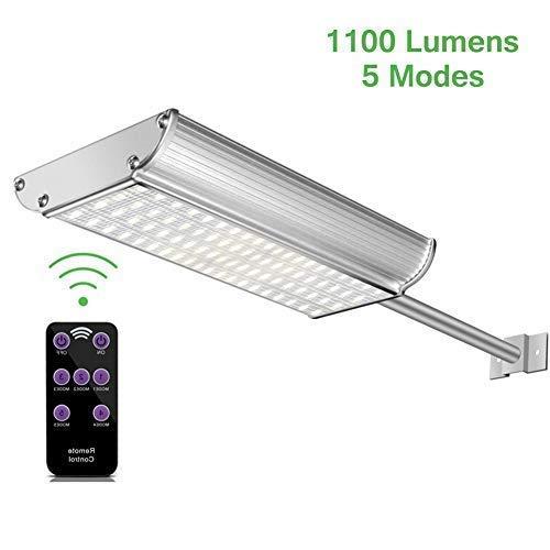 Luces Solares LED Exterior con Sensor Movimiento 70LED con mando