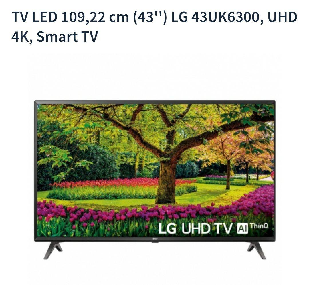 """SmartTV 4k 43"""" precio mínimo en Carrefour. Oferta solo hoy"""