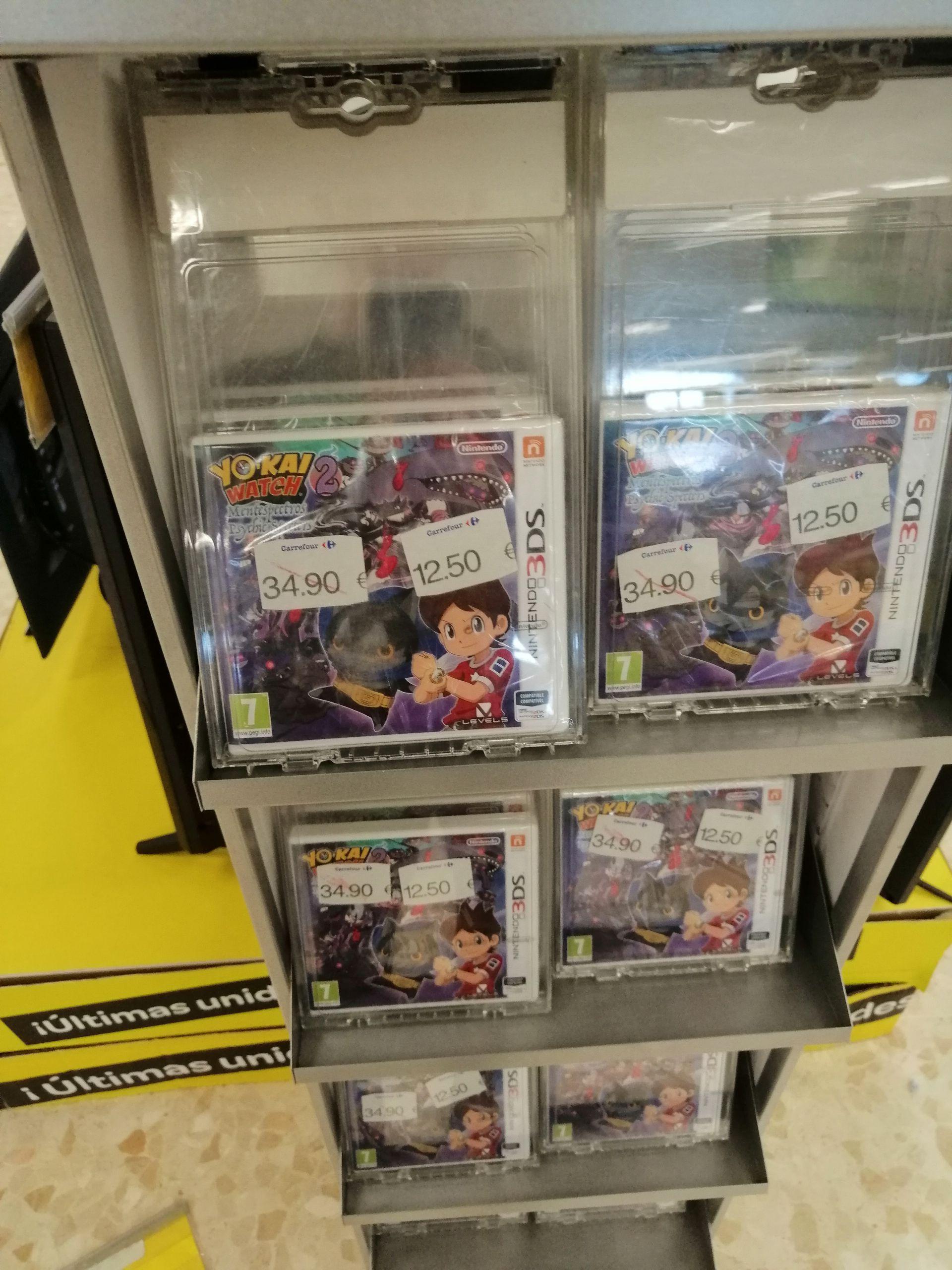 3DS Yo-Kai Watch 2: Mentespectros