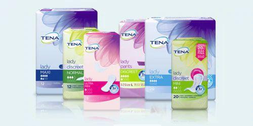 Muestras gratuitas de 16 productos a elegir de Tena lady