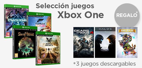 4 juegos de Xbox One desde 29.90 €
