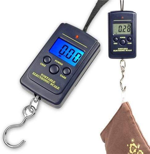 Báscula LCD para equipaje, pesca... hasta 40Kg