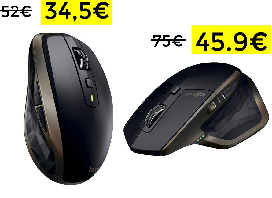 Logitech MX Anywhere 2 solo 34€