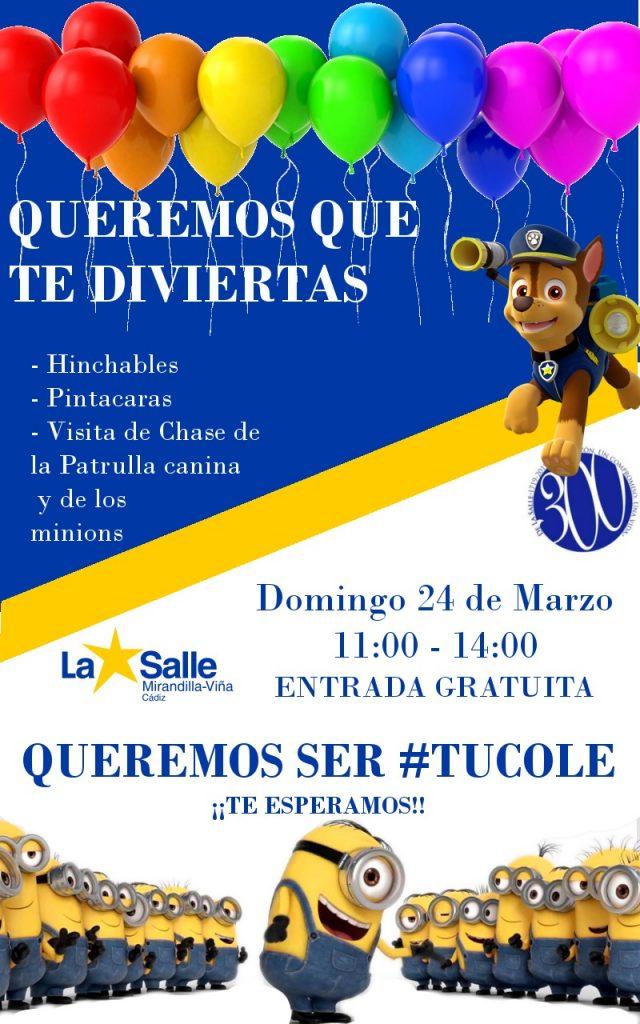 ¡Fiesta para los más pequeños gratuita! Domingo 24/03/19