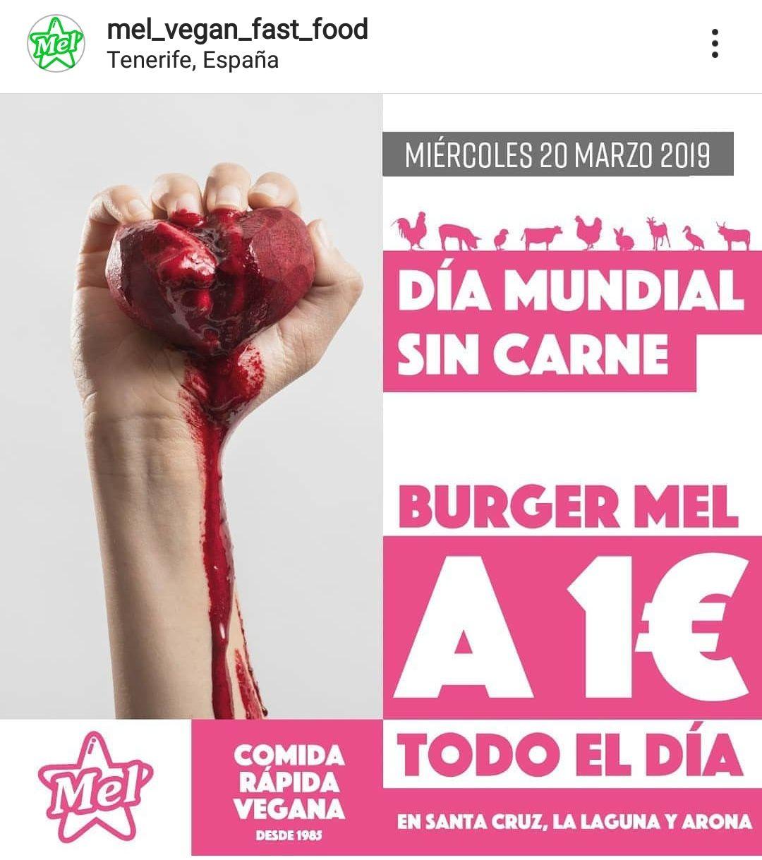 Hamburguesas Burguer Mel Tenerife