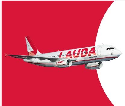 5 euros gratis en crédito de vuelo por cada billete con laudamotion