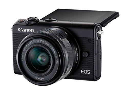 Canon EOS M100 - Cámara Evil compacta de 24.2 MP