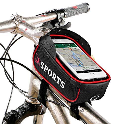 Bolsa bicicleta impermeable para Movil con Pantalla Táctil solo 5.99€