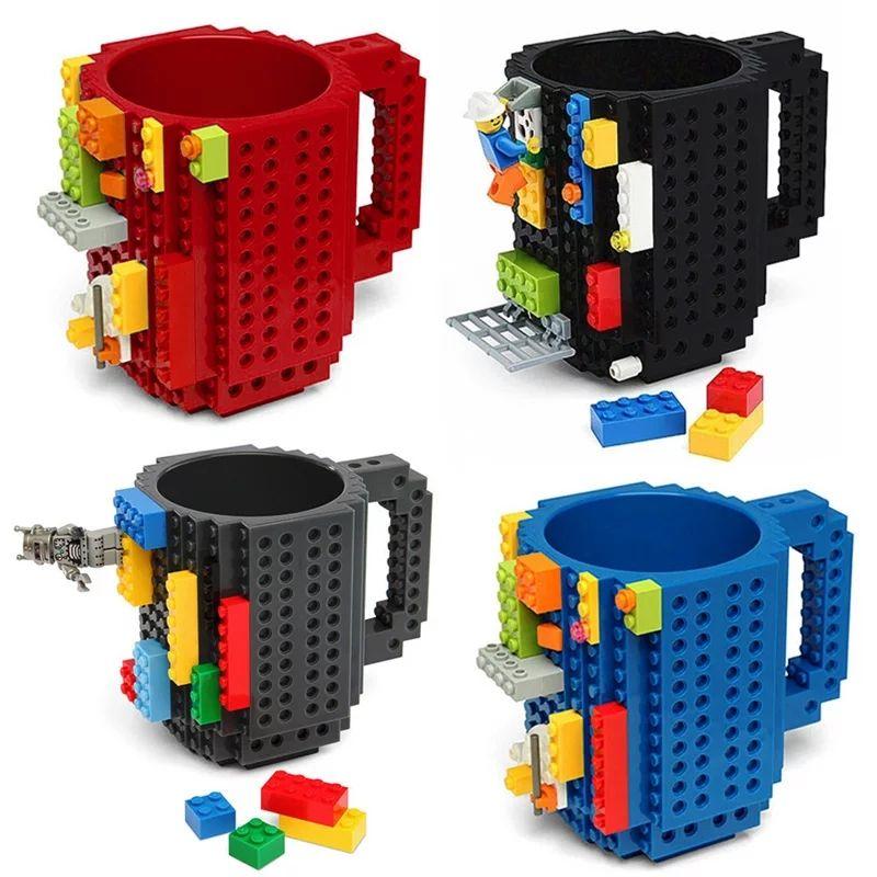 Taza compatible con LEGO