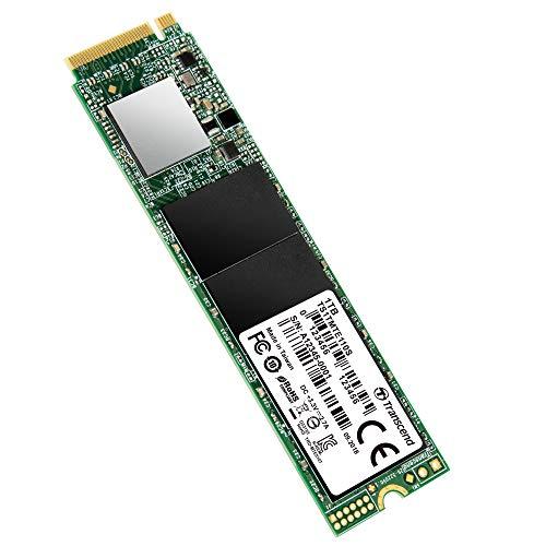 Transcend MTE110S, NVMe PCIe Gen 3x4 M.2 SSD de 1TB