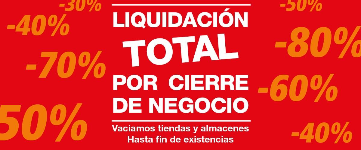 Liquidacion por cierre muebles DICORO