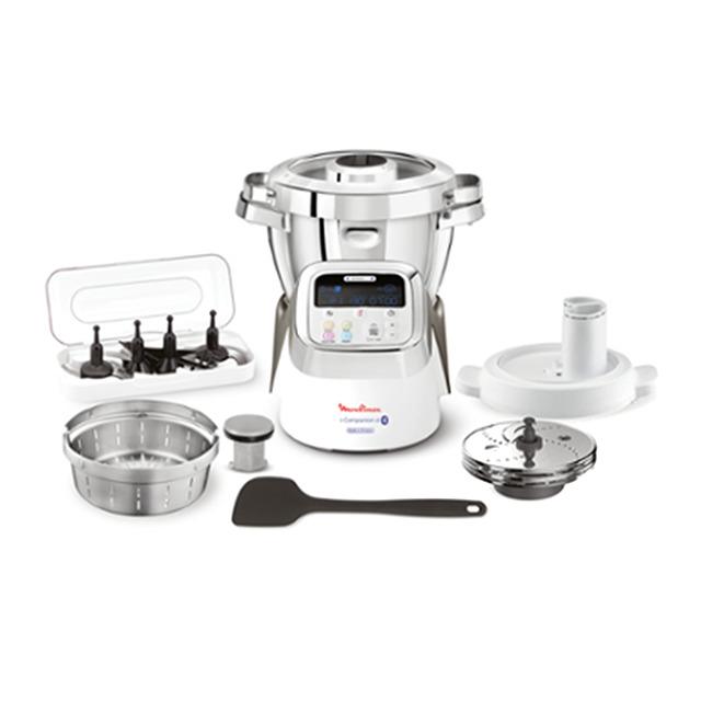 Robot de cocina Moulinex I-Companion XL HF906B10 con 7 accesorios