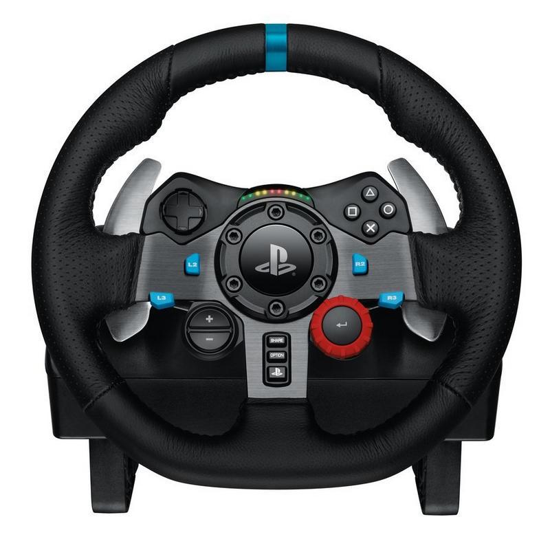 Logitech G29 Driving Force (PS3, PS4, PC) Volante Para Simuladores