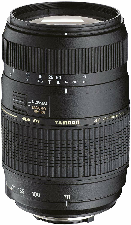 Tamron A17NII - Objetivo para Nikon (70-300mm, f/4-5.6, Macro, AF, 62 mm)