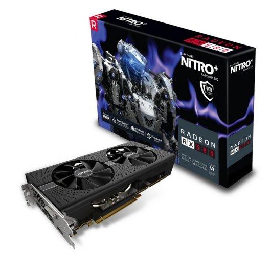 Sapphire Nitro+Radeon RX 580 8GB GDDR5 269€