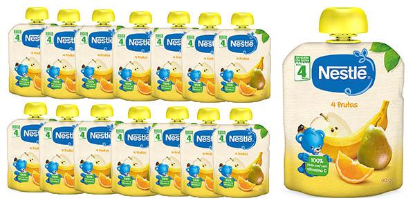 16X Nestlé frutas puré natural solo 9.4€