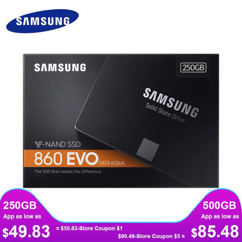 SAMSUNG SSD 860 EVO 500 GB disco de estado sólido  SATA3 2,5