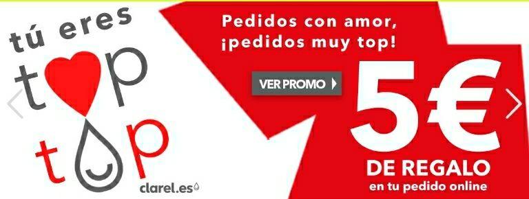 5€ DE REGALO para la PRÓXIMA COMPRA / DESCUENTOS EN PRODUCTOS