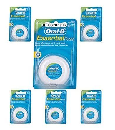 Hilo dental con cera Oral B (6 unidades)