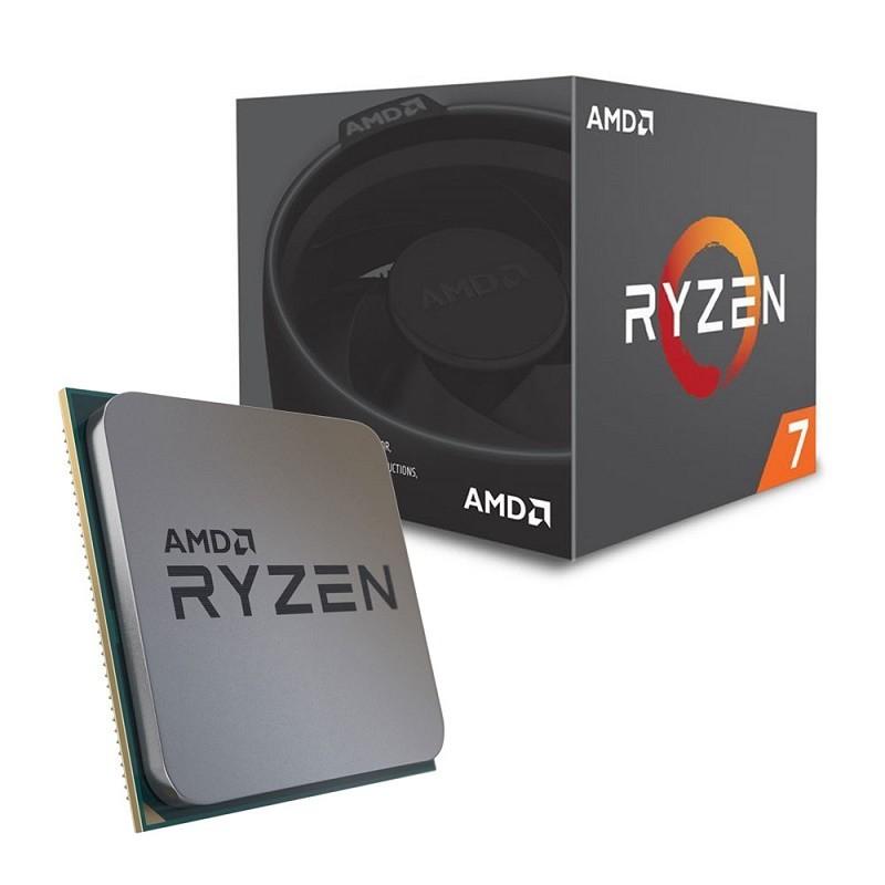 AMD RYZEN 7 2700 de 8 Cores / 16 Hilos (Max. 4.1 GHz) 65 W - YD2700BBAFBOX