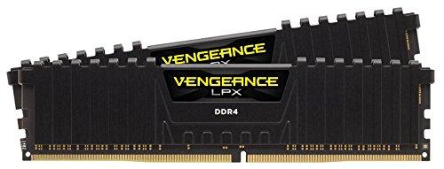 Corsair Vengeance LPX 32 GB (2 x 16 GB) DDR4 3200 MHz C16 XMP 2.0 High Performance Desktop Memory Kit Black
