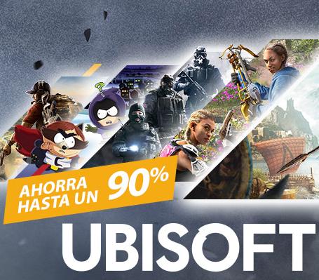 Steam: Rebajas de hasta un 92% del Editor Ubisoft