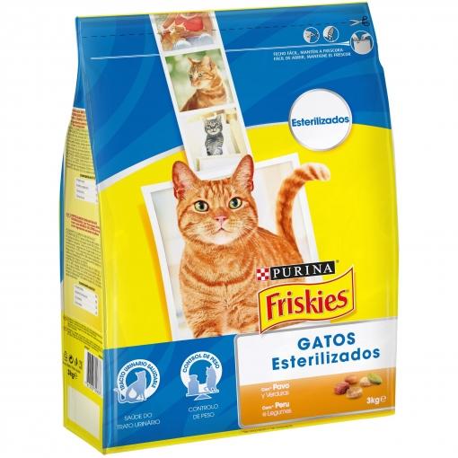 2x Friskies, Pienso para Gatos Esterilizados 3Kg