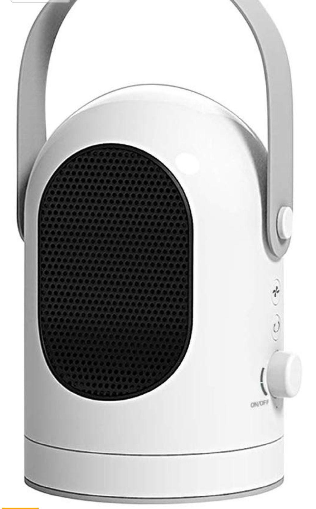 Calefactor/brisa mini electrico