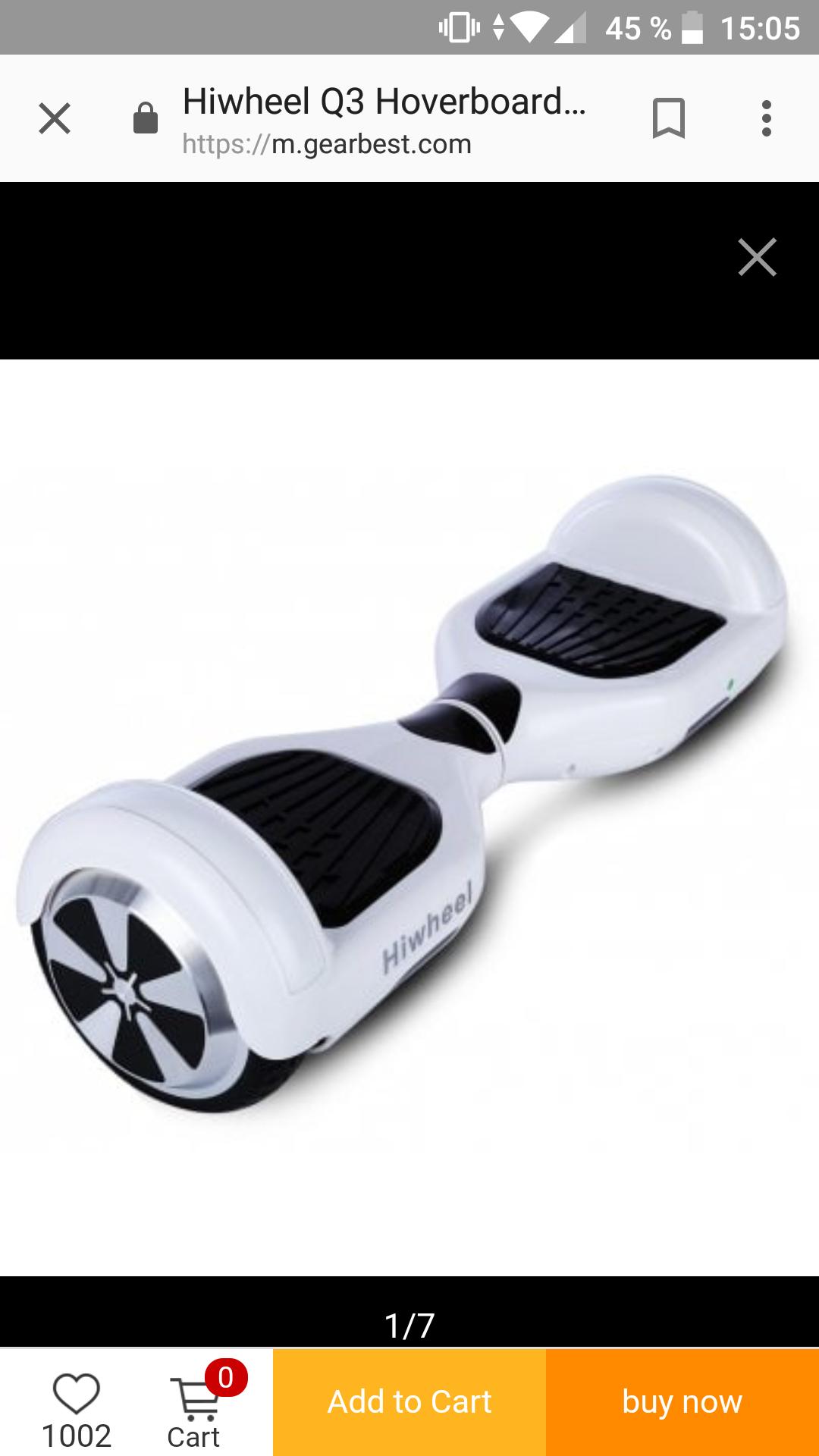 Hiwheel Q3 Hoverboard