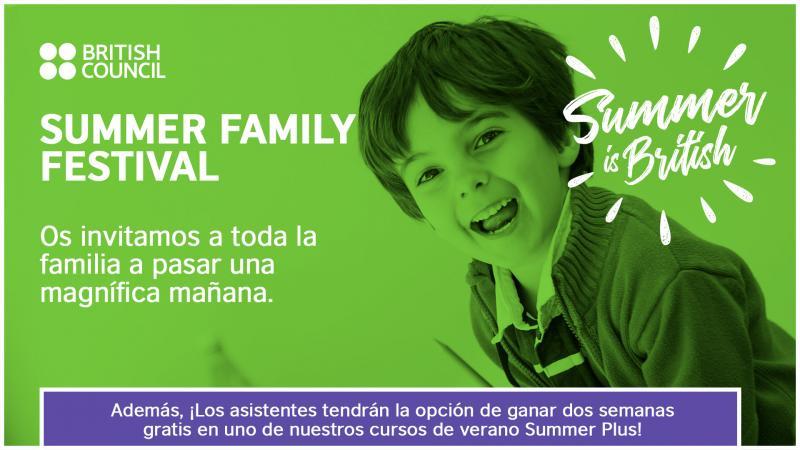 Summer Family Festival: Una mañana en inglés GRATIS para toda la familia