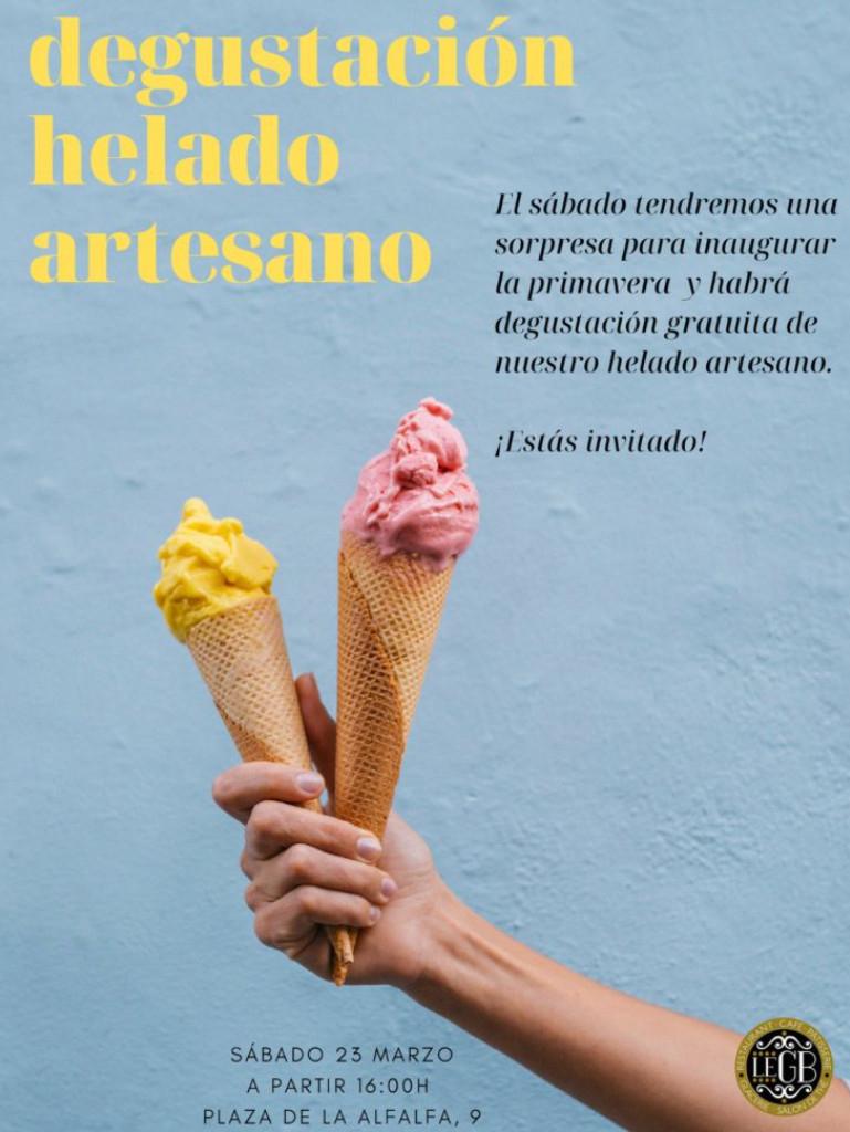 SEVILLA (SÁBADO 23/03): Degustación de helado artesano gratis